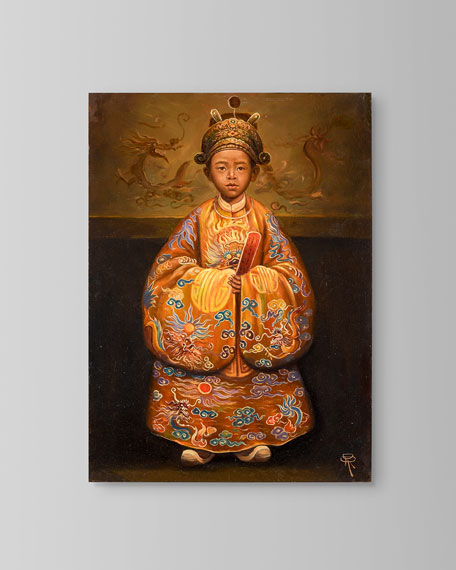 """""""Emperor Duc Tan"""" Painting by Roland Renaud"""