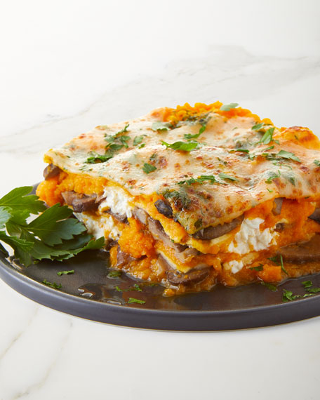 Aux Delices Butternut Squash and Goat Cheese Lasagna