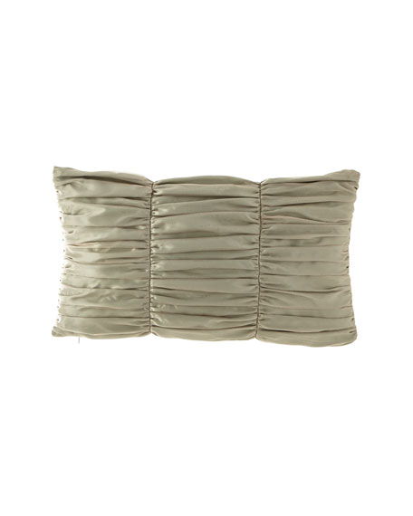 Petit Trianon Ruched Oblong Pillow