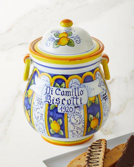 Il Vaso con Orecchini Biscotti Jar