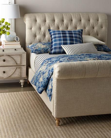 Nancy Tufted King Bed