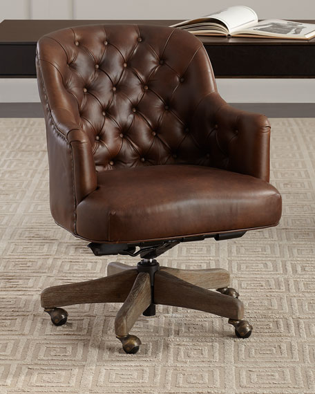 Glen Crest Leather Office Chair