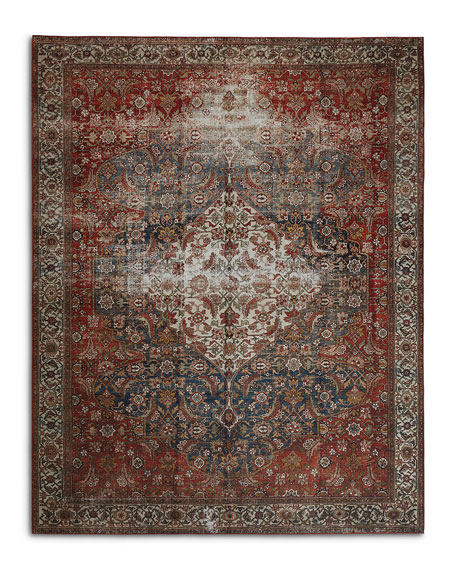 Lena  Power-Loomed Runner, 3' x 8'