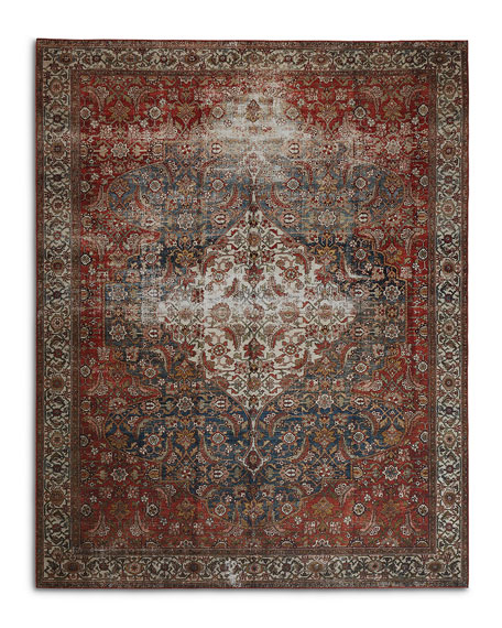 Lena  Power-Loomed Runner, 3' x 12'