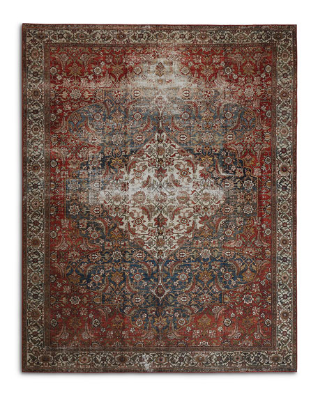 Lena Power-Loomed Rug, 8' x 10'
