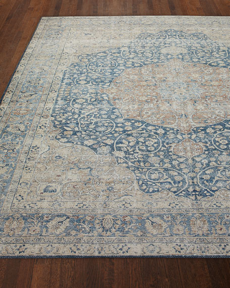 Francine Power-Loomed Rug, 9' x 12'