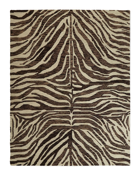 Panther Hand-Loomed Rug, 9' x 12'