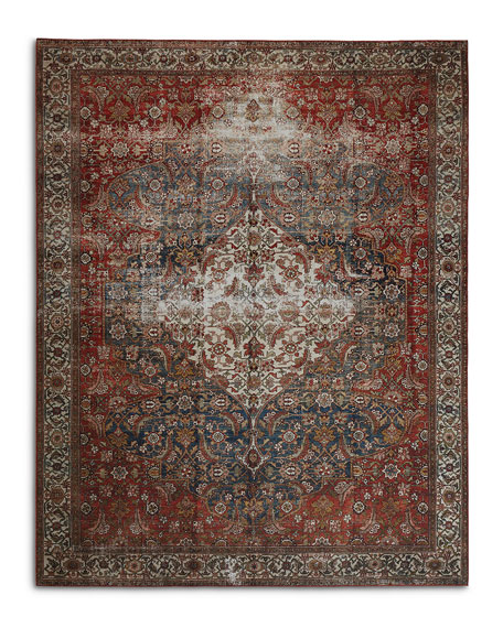 Lena Power-Loomed Rug, 9' x 12'