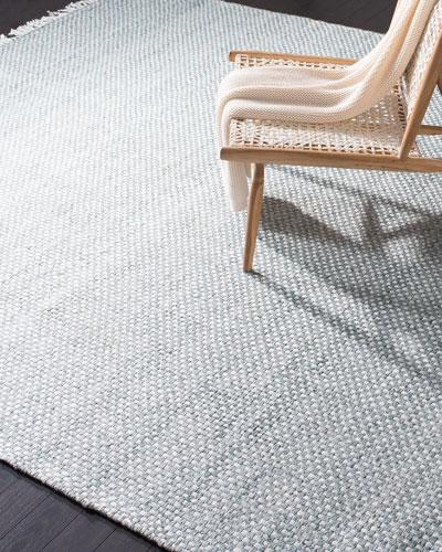 Amalie Sage Hand-Woven Flat Weave Runner  2'6 x 8'