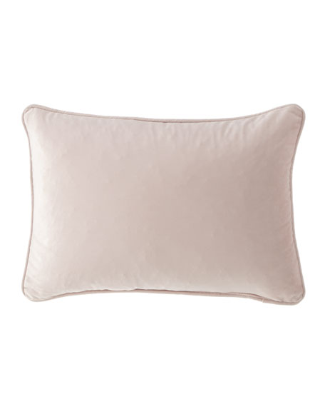 "Liliana Velvet Pillow, 14"" x 20"""