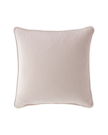 "Liliana Velvet Pillow, 20""Sq."