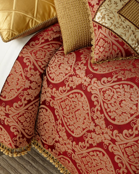 Fontenay Damask King Duvet