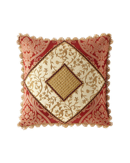 Sweet Dreams Fontenay Pieced Boutique Pillow with Scallop