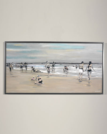 """""""Vacation Study"""" Giclee Wall Art by Edith Parker"""