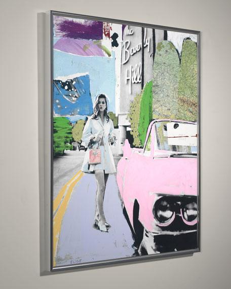 """Pinky Dinky Blue"" Giclee Wall Art by Elige"