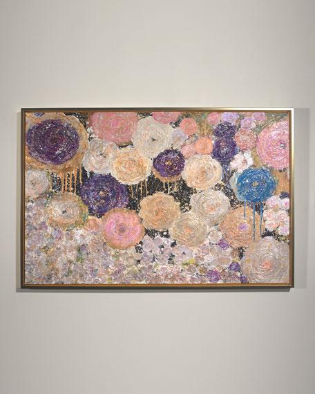 """""""English Garden"""" Giclee Wall Art by Lenore Gimpert"""