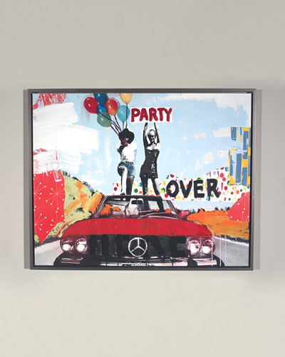 Party Over Here Giclee Wall Art by Elige