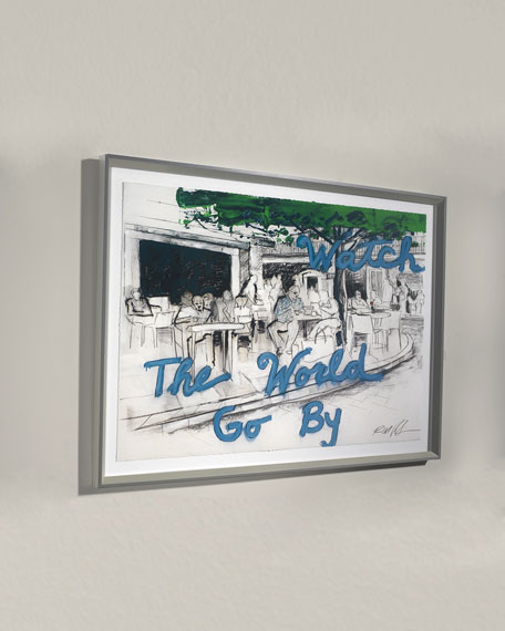 """World Go"" Giclee Wall Art by Robert Robinson"