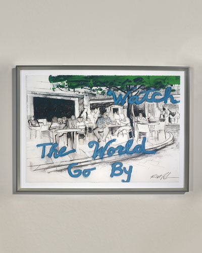 World Go Giclee Wall Art by Robert Robinson