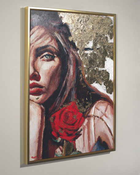 """""""The Heroine"""" Giclee Wall Art by Nava Lundy"""