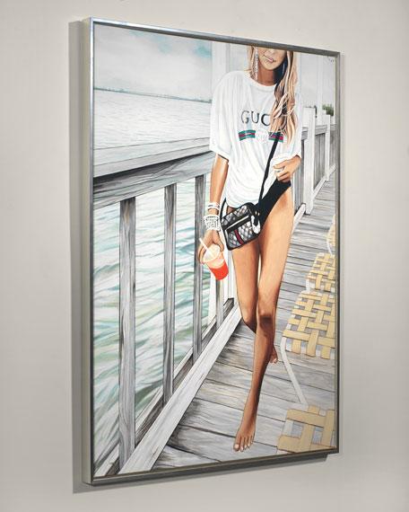 """Gucci Keys"" Giclee Wall Art by Jeff Schaub"