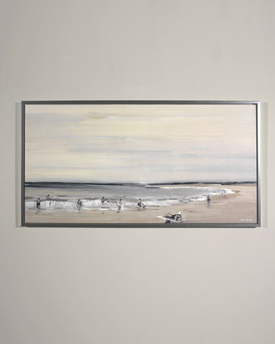 Beach Study Giclee Wall Art by Edith Parker