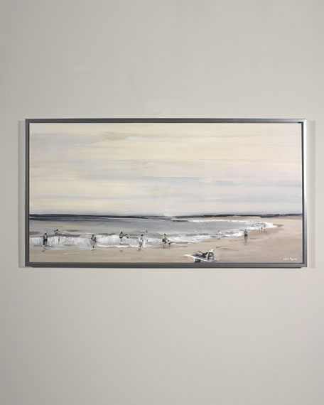 """Beach Study"" Giclee Wall Art by Edith Parker"