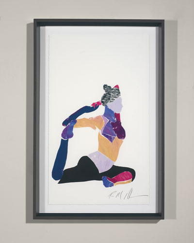 Yoga - Pigeon Giclee Wall Art by Robert Robinson