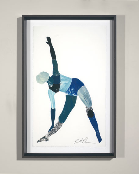 """Yoga - Triangle Pose"" Giclee Wall Art by Robert Robinson"