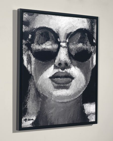 """Sun Gazing"" Giclee Wall Art by Nava Lundy"