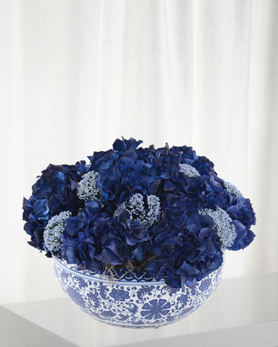 Blue Horizon Floral Arrangement