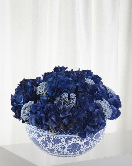 Blue Horizon Floral Arrangement