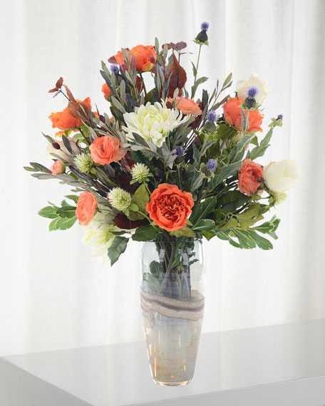 Shades of Umber Floral Arrangement