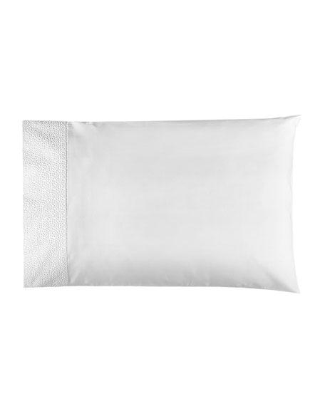 Bovi Fine Linens Pearls Standard Pillowcases, Set of