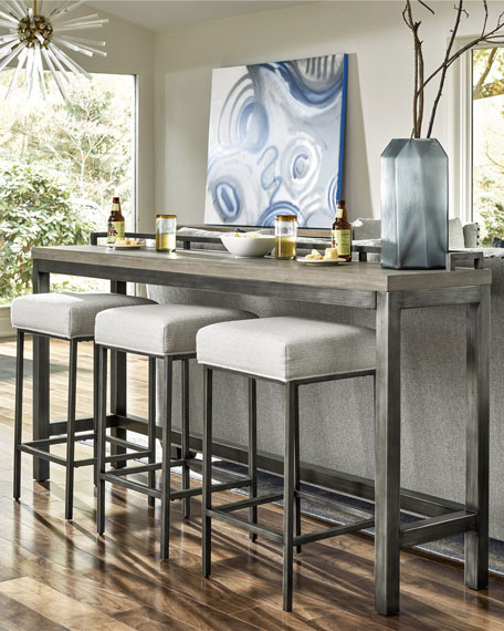 Healdsburg Console with 3 Stools