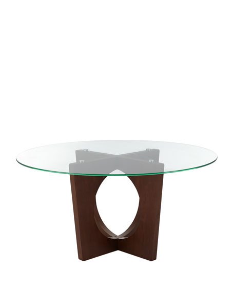 Cynthia Round Cutout Dining Table