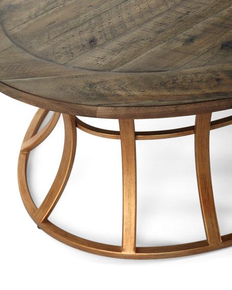 Mia Oval Coffee Table