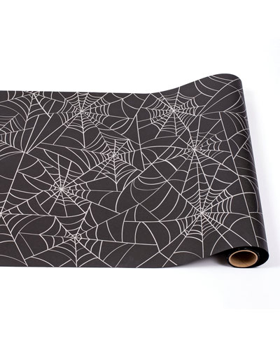 Spider Web Paper Table Runner