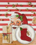 Santa Table Setting Decor Collection