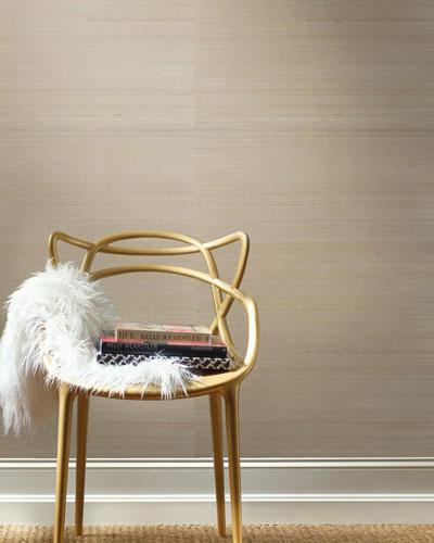 Solid Metallic Pearl Texture Wallpaper