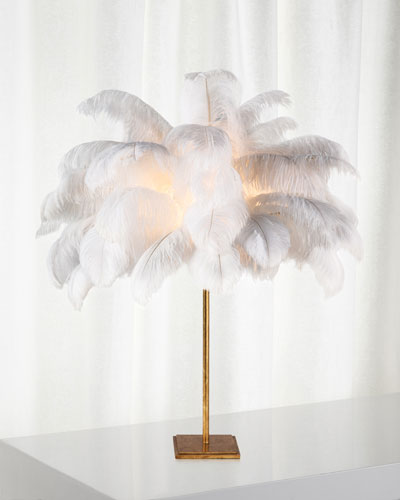 Josephine Feather Table Lamp