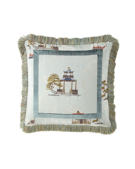 """Imperial Palace Pillow, 18"""""""