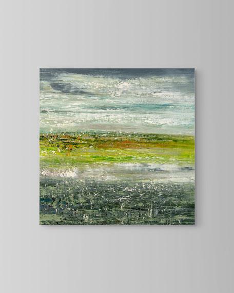 """Grassland"" Painting by Jinlu"