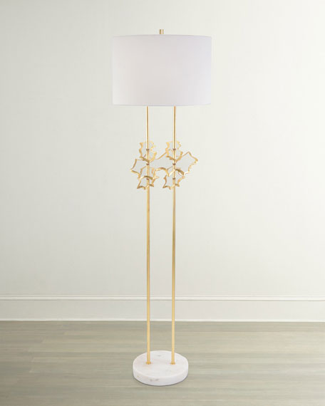 Floating Disc Floor Lamp