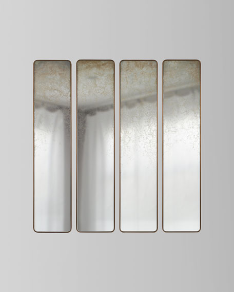 Pastelle Wall Panels, Set of 4