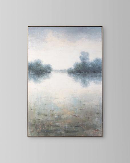 """Stillness"" Oil Painting by Sophia"