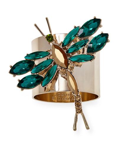 Dragonfly Napkin Rings  Set of 2