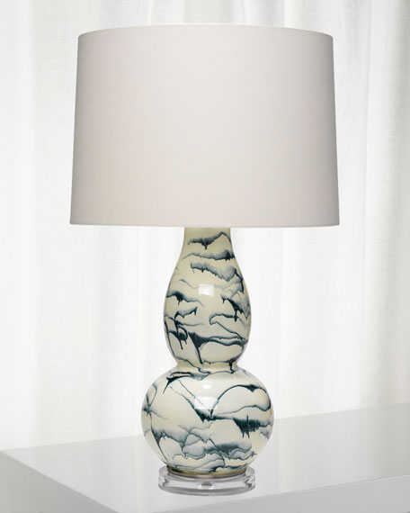 Elodie Glass Table Lamp