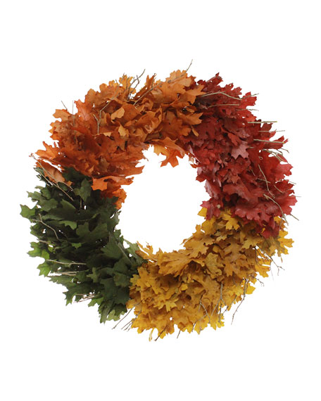 "22"" Treasured Fall Wreath"