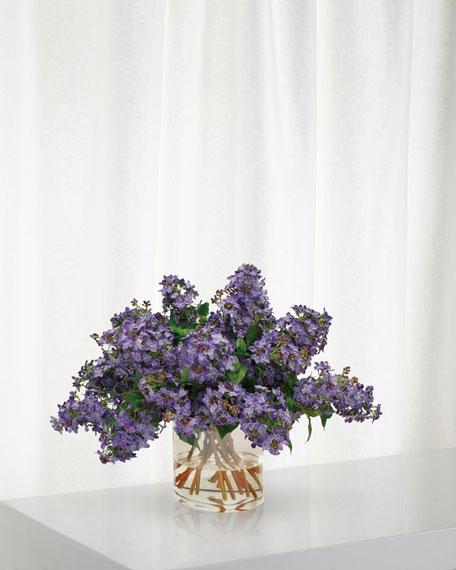 Lilac in Cylinder Vase